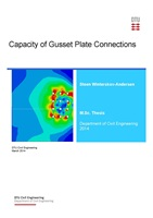 Front page - 2014 Steen Winterskov-Andersen - Capacity of Gusset Plate Connections